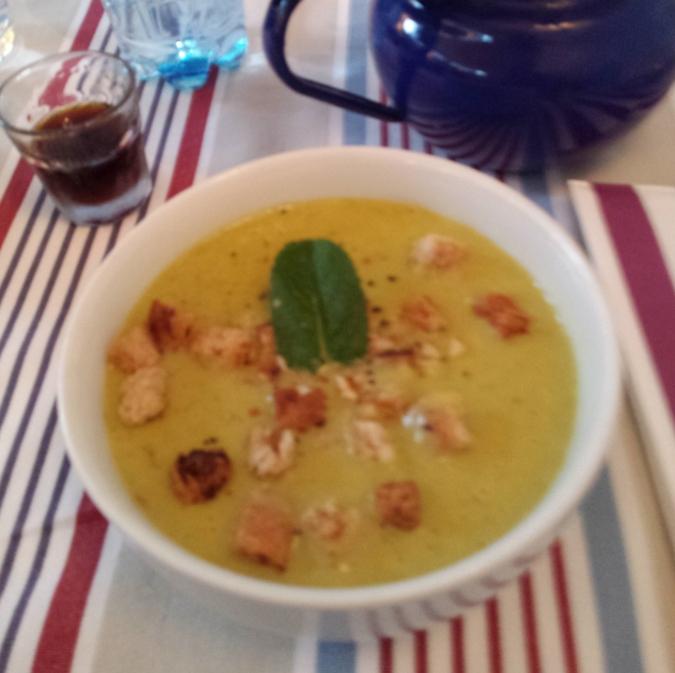 Borsókrém leves